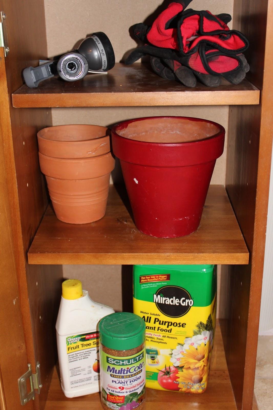 Garden Potting Cabinet