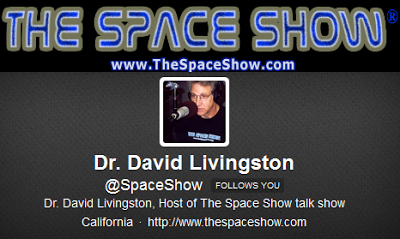 The Space Show with Dr. David Livingston