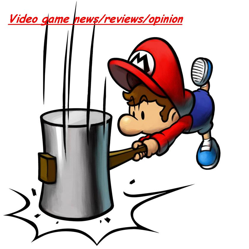 Video game news/reviews/opinion