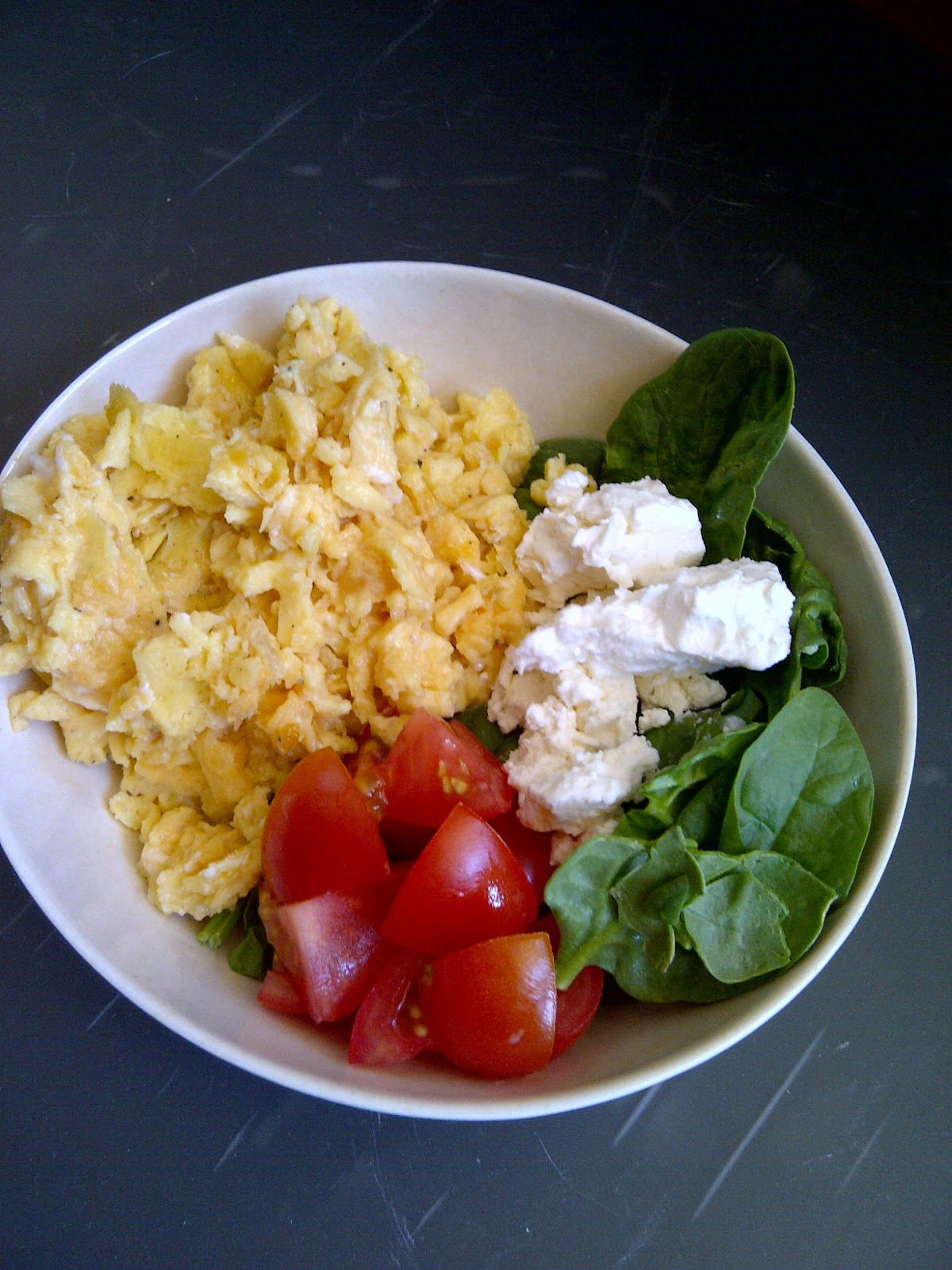 Scrambled Eggs & Food Allergy Talk - www.soliloquyoffood.com