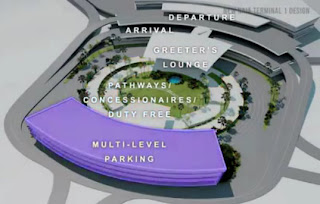 new NAIA Terminal Renovation Rehabilitation Design