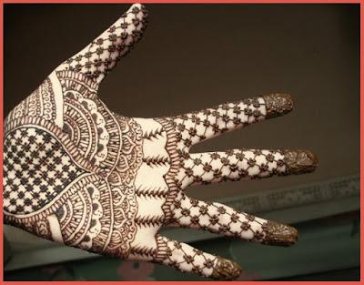 Easy Arabic Mehndi Designs For Girls