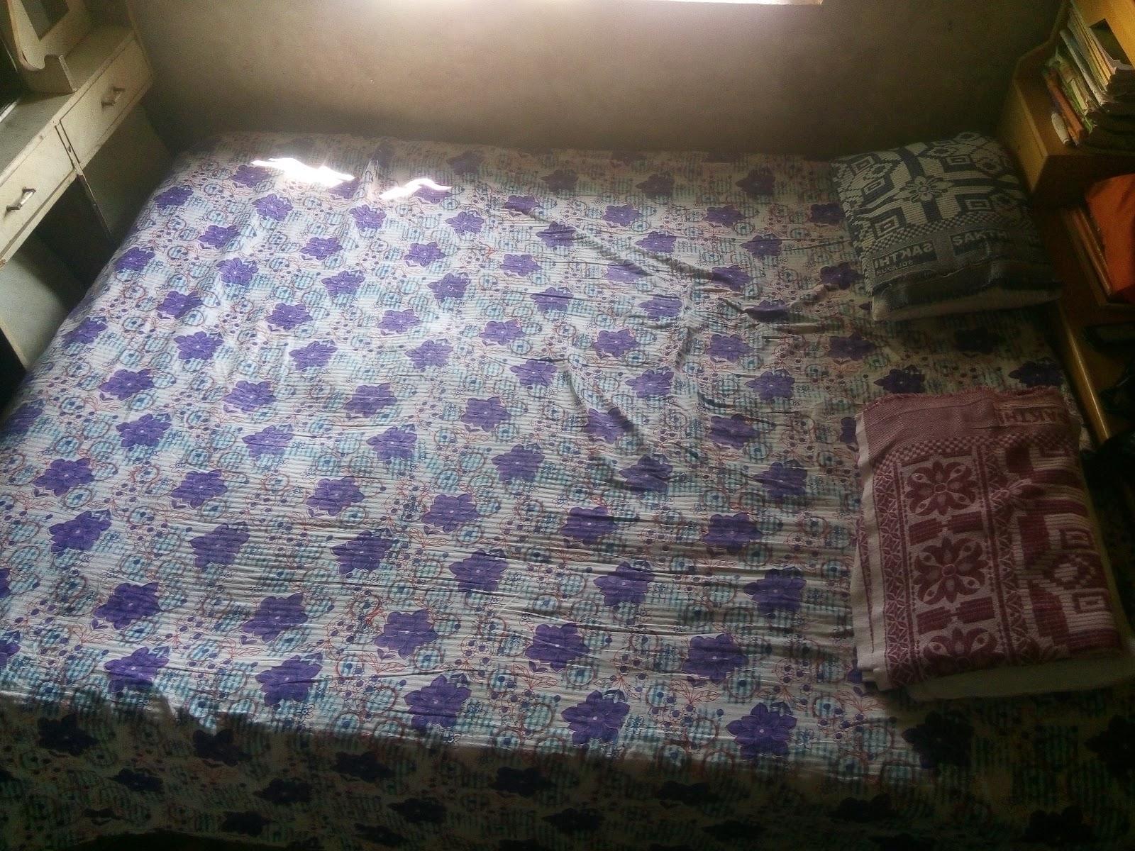 काकांच्या घरातील आमची झोपेची व्यवस्था