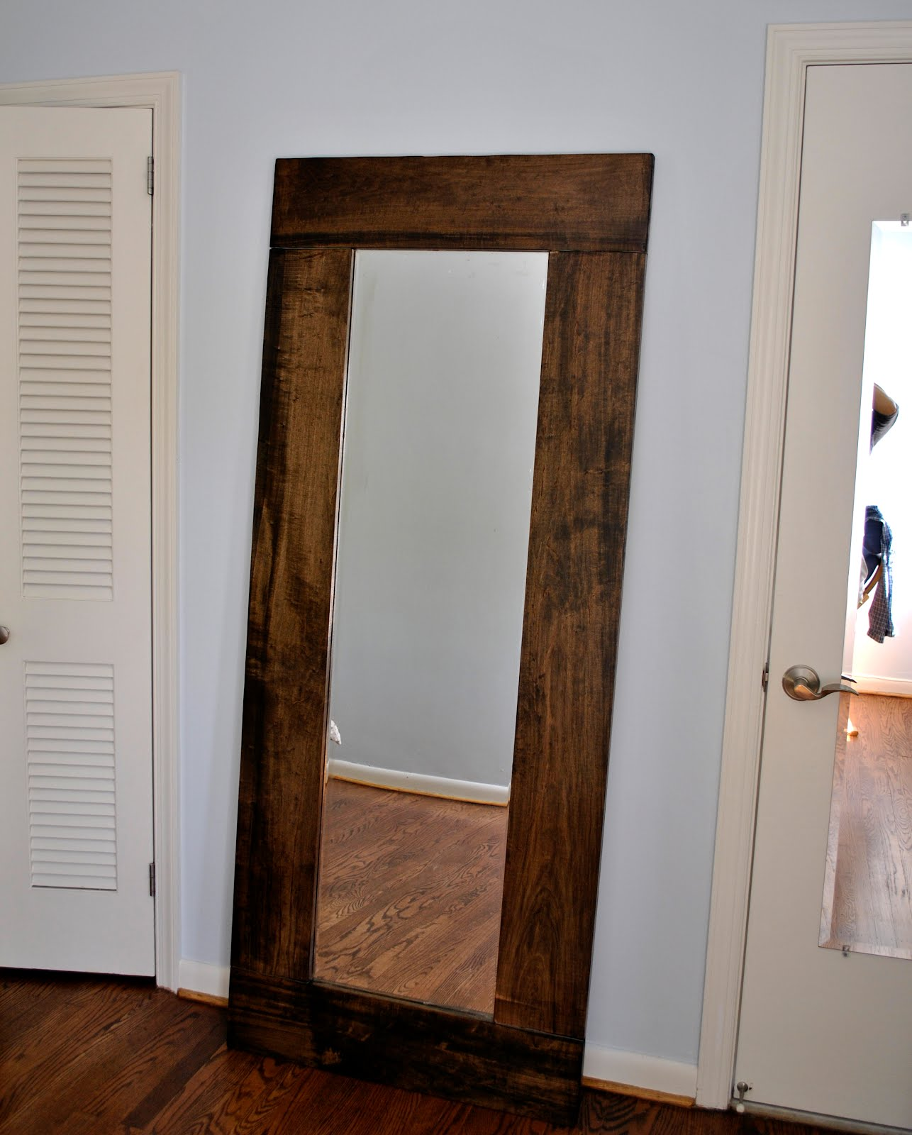 Forty two roads the mystery is revealed for Giant bedroom mirror