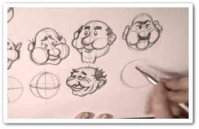 Как рисовать голову карандашом