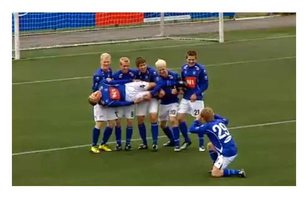 Stjarnan FC, goal celebrations, best football celebrations, football, funny, Iceland