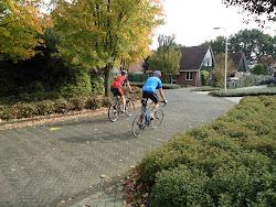 mijn fietsende mannen