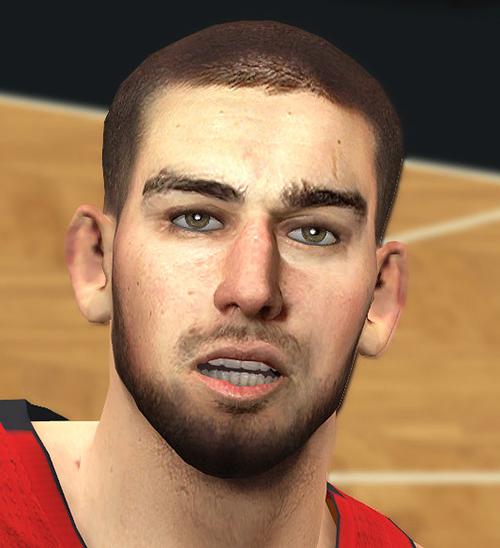 NBA 2K14 Jonas Valanciunas Face Mod