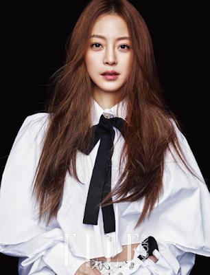 Han Ye Seul Elle December 2015