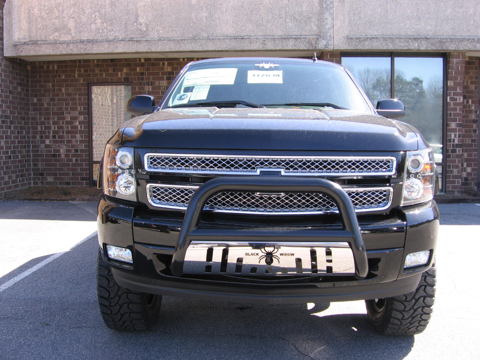 2012 Black Widow Truck http://vannyorkgm.blogspot.com/2012/03/check-out-this-all-new-2012-chevy.html