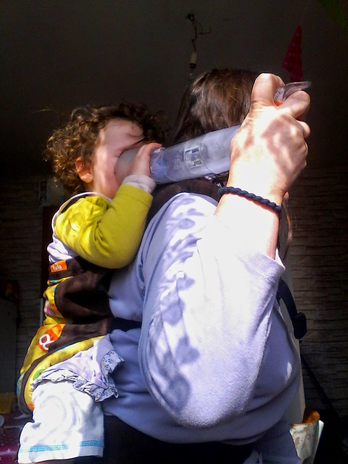 bronchiolite inhalateur portage BB Koala portage bienveillance éducation maman