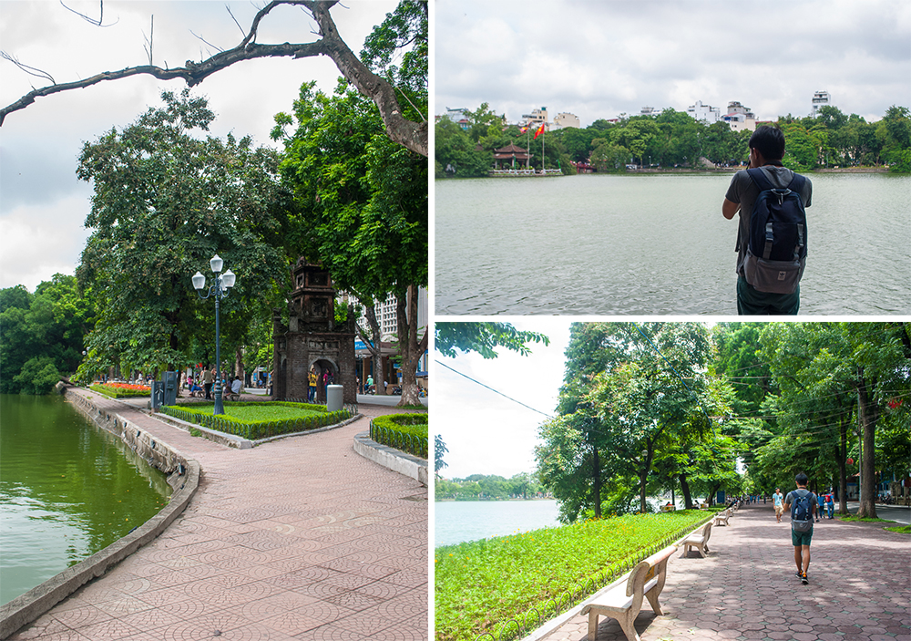 vicinity of hanoi lake