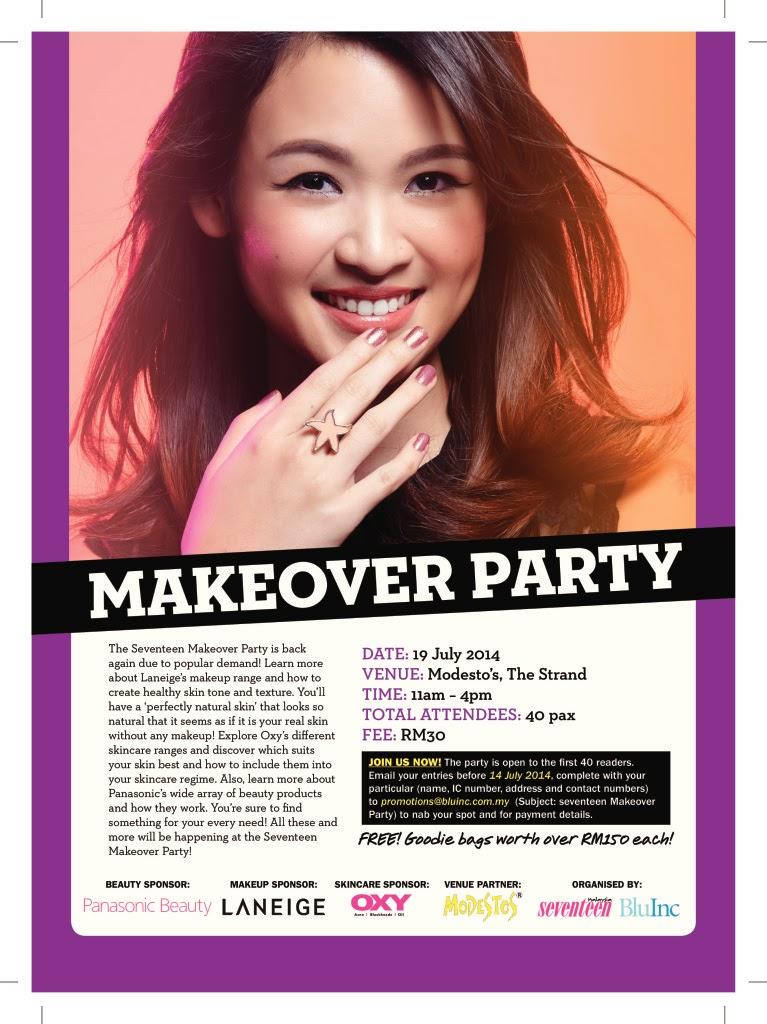 Seventeen makeover
