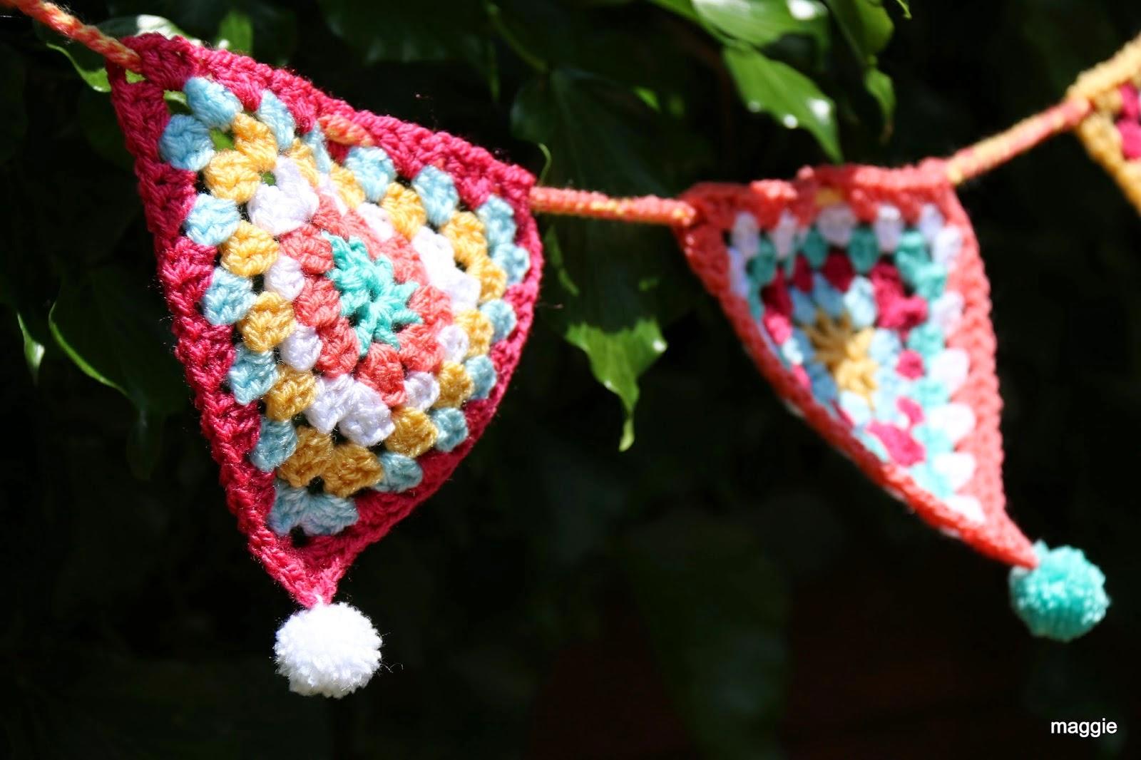 Crochet Bunting - June 2014