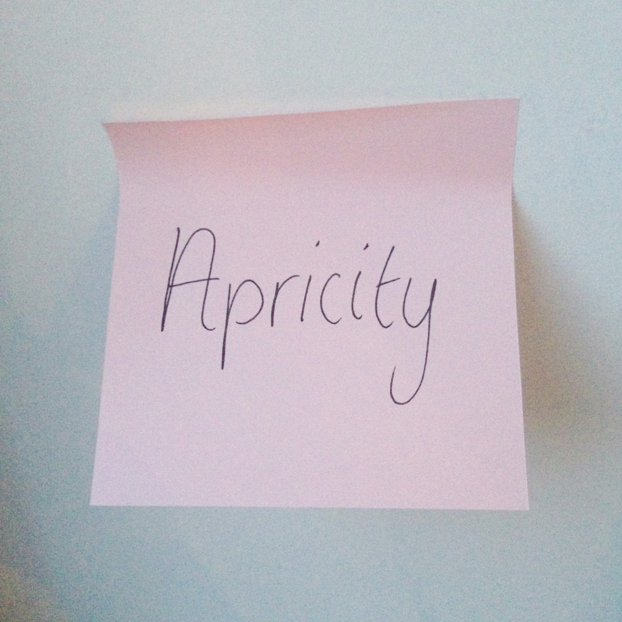 word of the week apricity