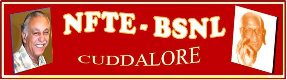 NFTE-BSNL CUDDALORE