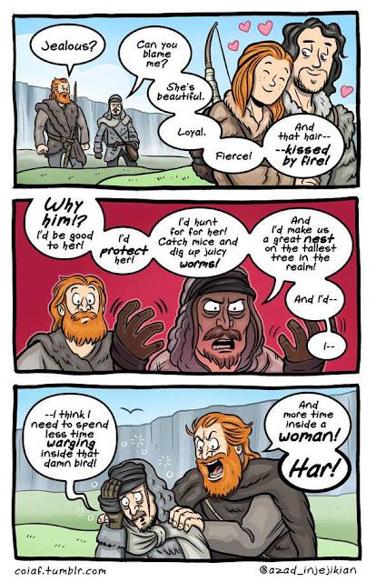 Ygritte jon orell comic - Juego de Tronos en los siete reinos