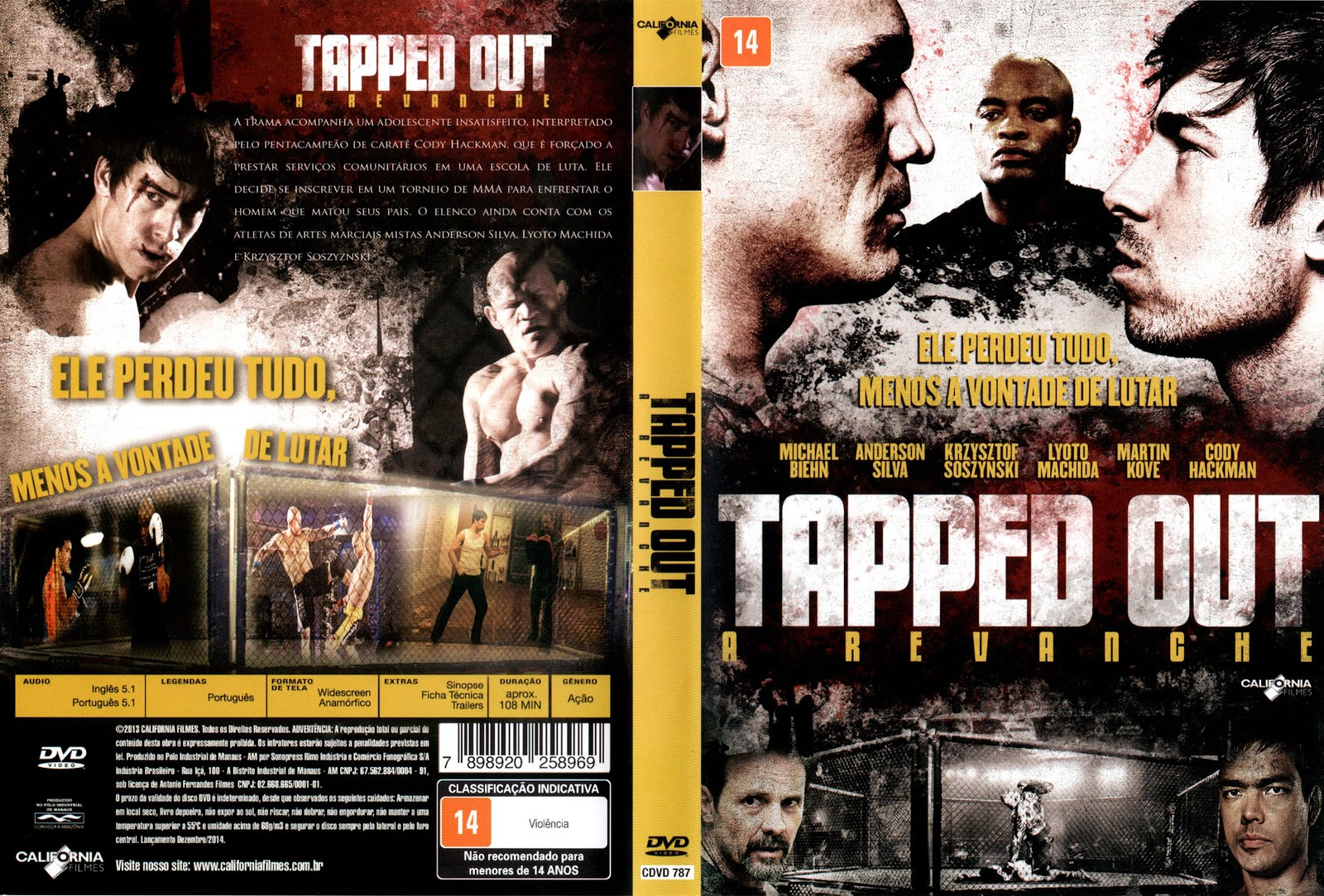 Capa DVD Tapper Out A Revanche