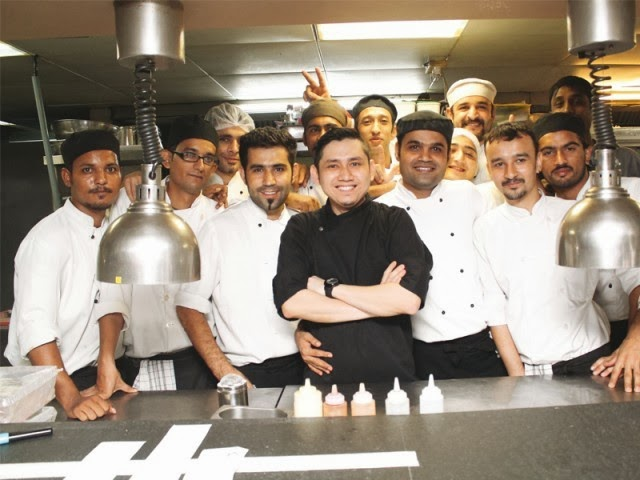 Chef Fazil -- 7up Chefs Bonanza Pakistani fine dining festival