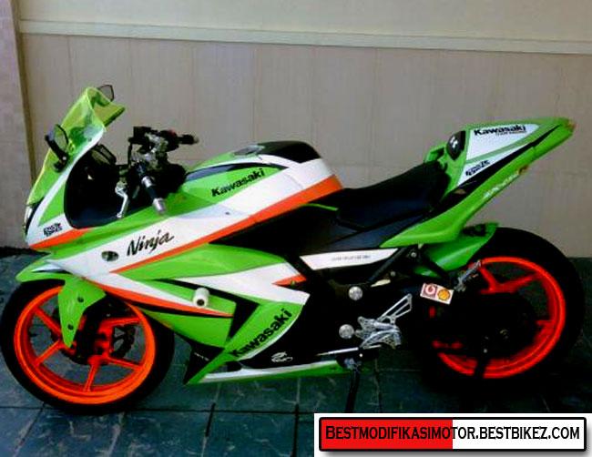 Gambar Kawasaki Ninja 250 Fi Modifikasi