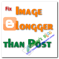 Sửa lỗi ảnh tràn ra ngoài khung bài viết trong Blogger