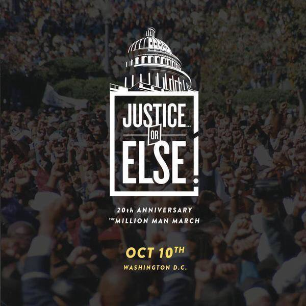 20th Anniv Of The Million Man March