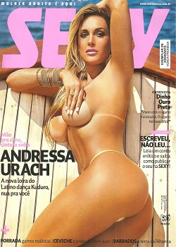 Revista Sexy Abril Andressa Urach