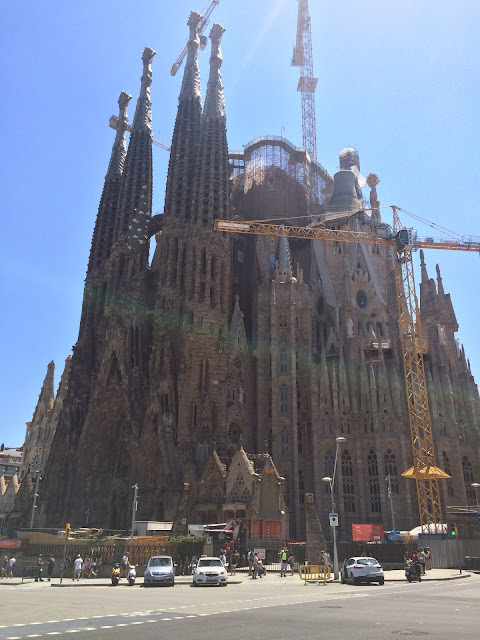 Barcelona, Spanyol,Eropa,Wisata,Travelling, Basilica La Sagrada Familia, Antoni Gaudi
