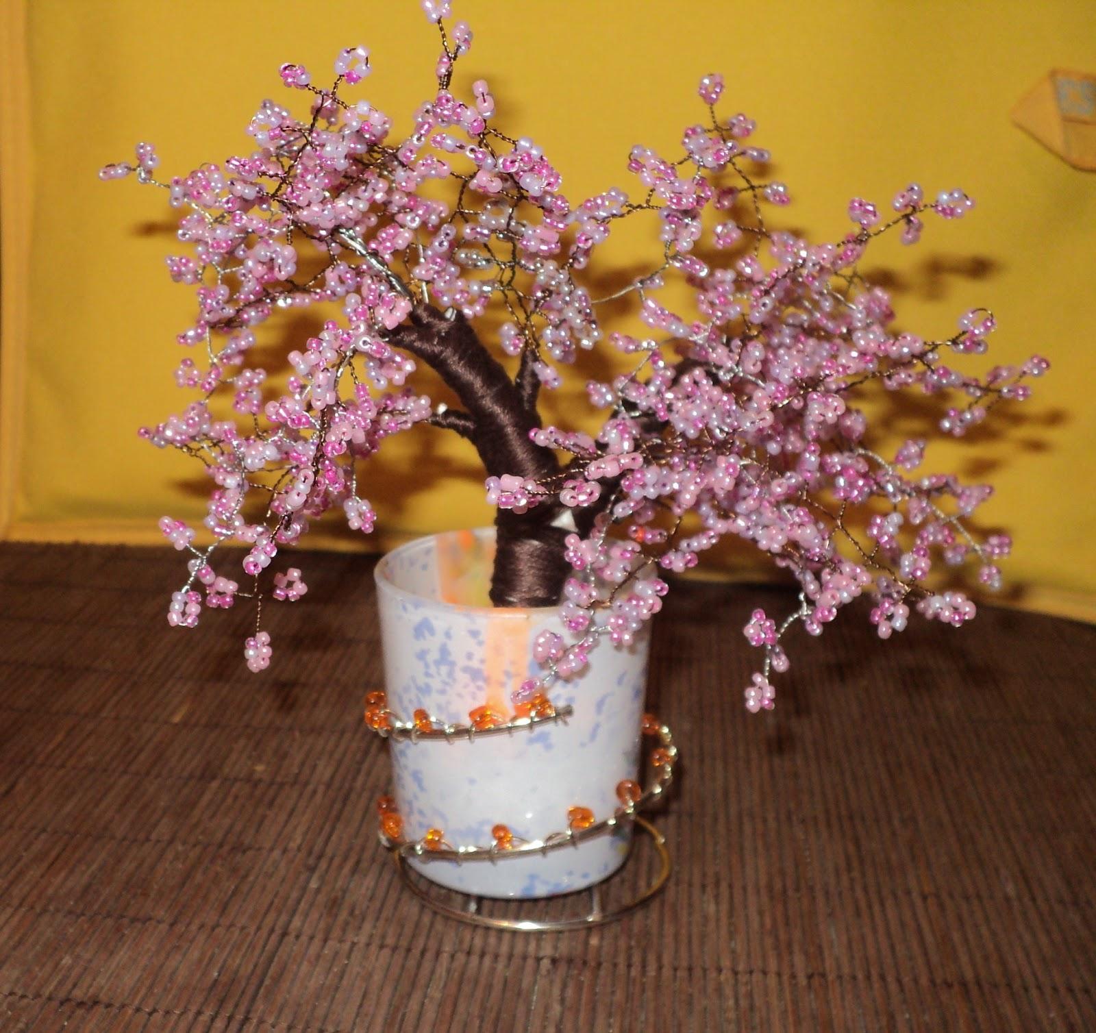 Цветущие деревья своими руками