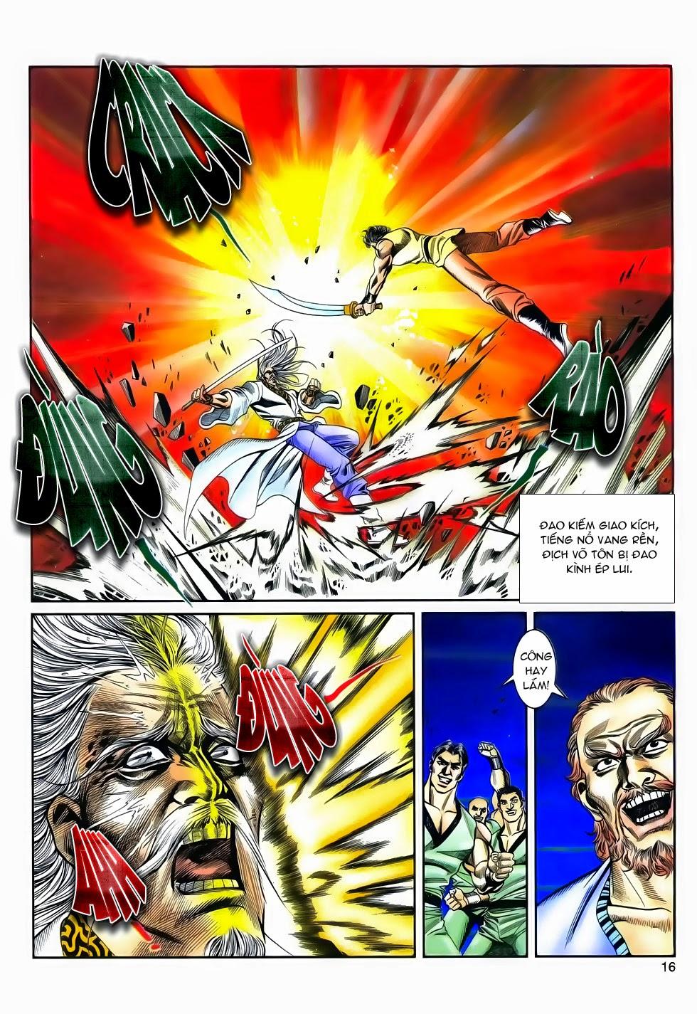 Long Hổ Phong Bạo chap 4 - Trang 15