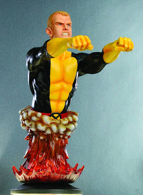 Cannonball Marvel Comics Mini Bust by Bowen Designs