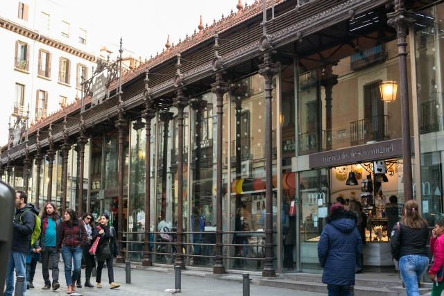 Sehenswertes in Spanien Madrid - Märkte - Mercado San Miguel