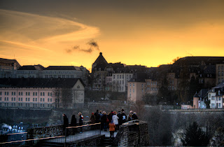 Luxembourg from the Grund