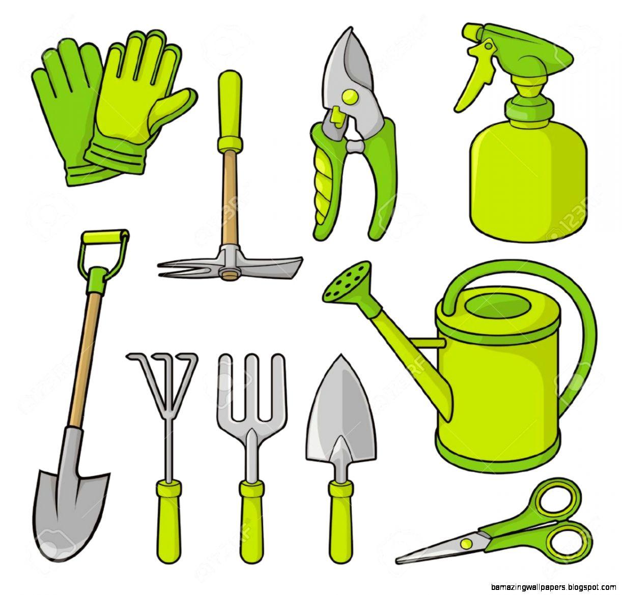 Garden Tools Clipart Inspiration 32930 Garden Ideas