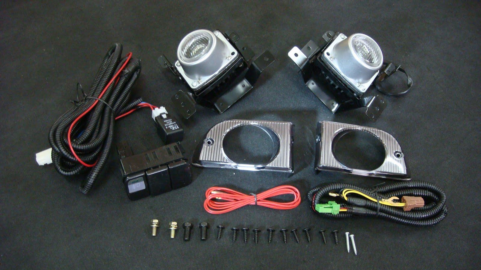 Where Everyone Can Buy 92 95 Honda Civic Eg 4 Door Jdm Style Fog Wiring Harness Lights Kit