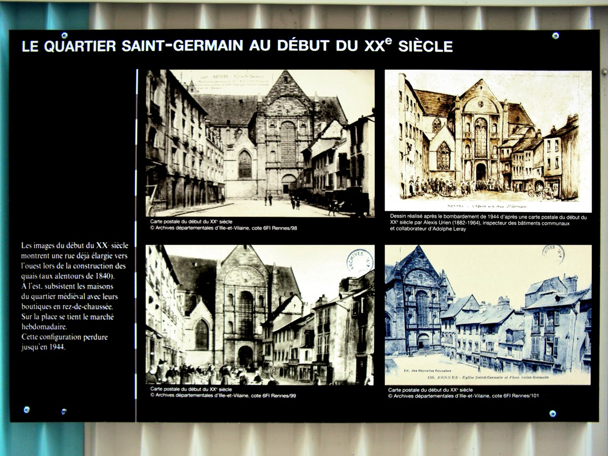 Le quartier Saint-Germain au début du XXème siècle