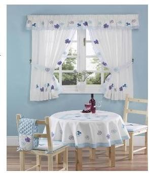 Decoraci n de rincones ideas para cortinas de cocina - Ideas cortinas cocina ...