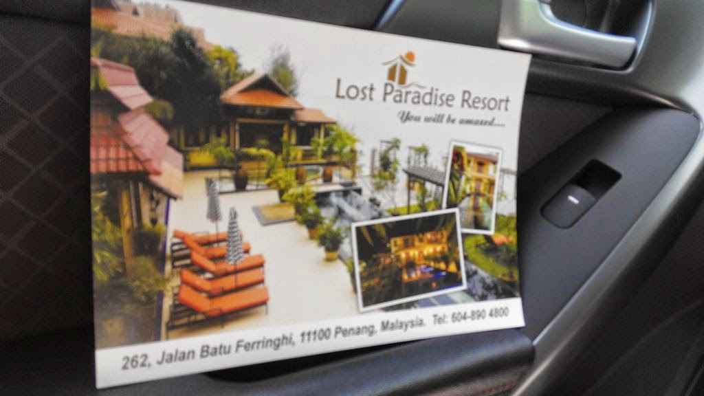lost paradise resort feringghi, resort penang