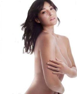 fotos Monica Bellucci Elle desnuda