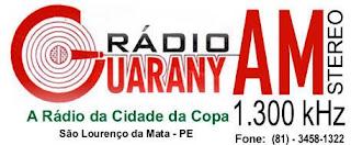 Rádio Guarany Am da Cidade de São Lourenço da Mata ao vivo