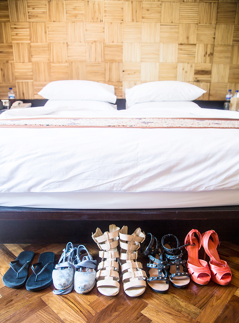 Shoes for traveling- Padma Resorts Legian