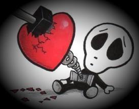 Imagenes de corazones emos