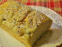 Pão de Ervas com Gergelim (vegana)
