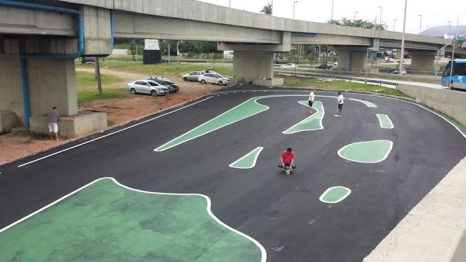 Mini Autódromo (18): pintura da pista