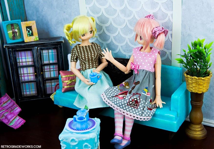 Image of Pure Neemo Tomoe Mami and Kaname Madoka from Puella Magi Madoka Magica