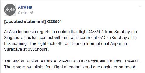 pesawat airasia hilang