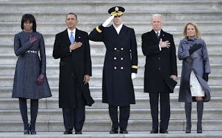 Barack Obama, en la toma de protesta de su segundo periodo.