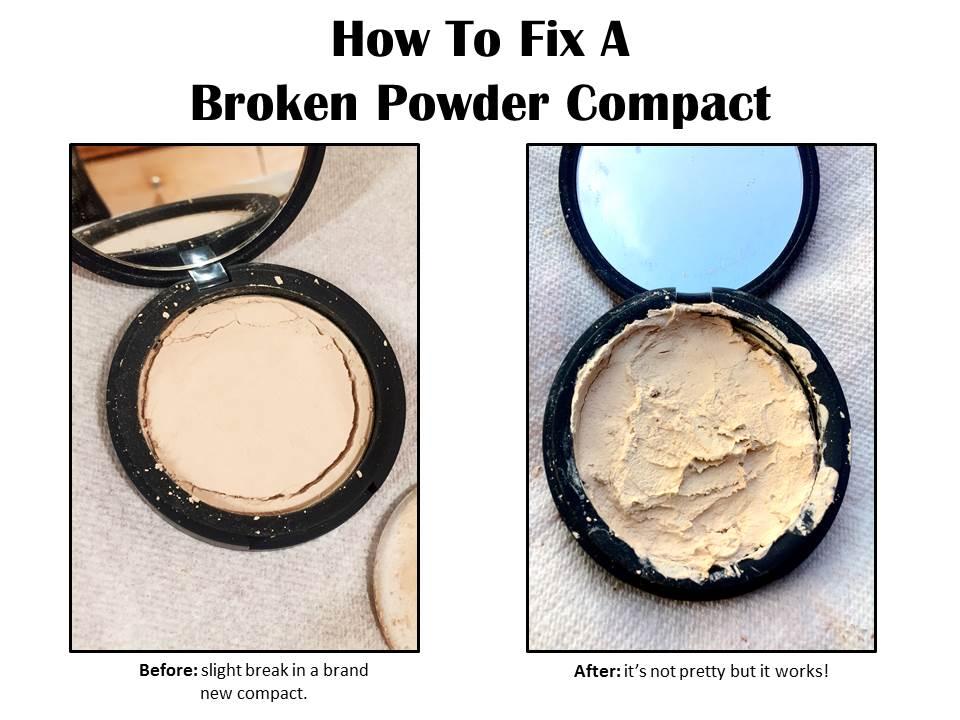 How To Fix A Broken Powder Compact | Gina Miller's Blog - A blog ...