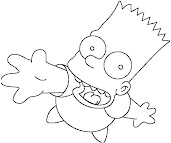 #5 The Simpsons Coloring Page
