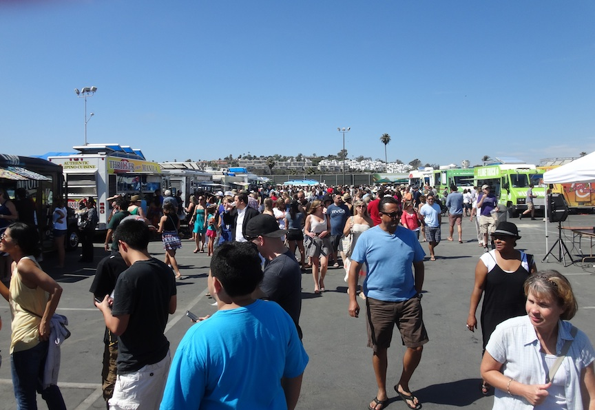 Gourmet Pigs  Food Truck Festival at The Del Mar Racetrack